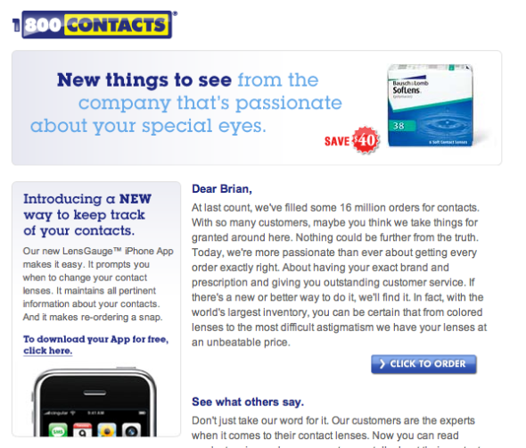 contacts.com spam